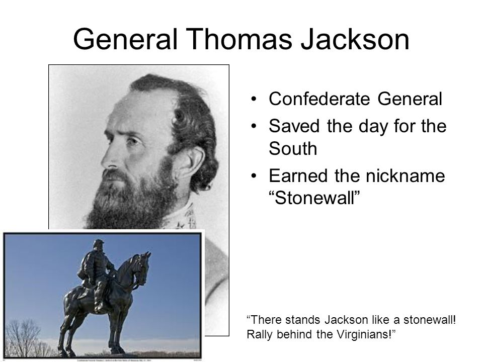 General Thomas Jackson