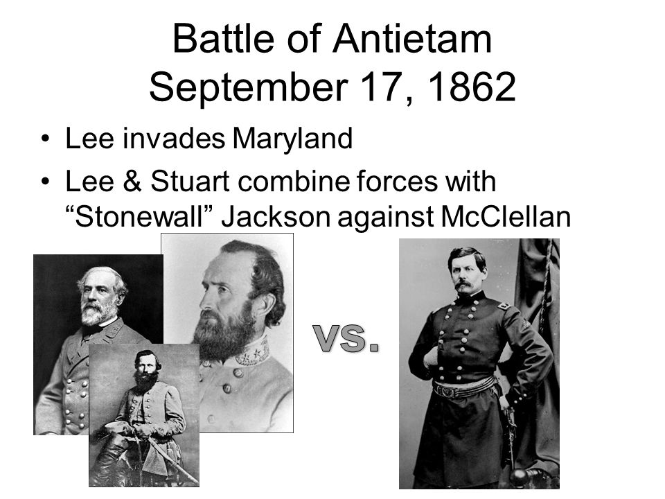 Battle of Antietam September 17, 1862
