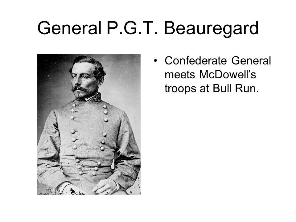 General P.G.T. Beauregard