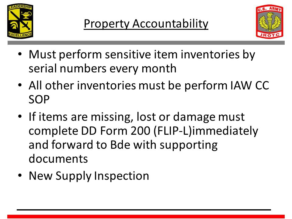 sensivite items Is there a reg that says supply persons are not authorized to conduct sensitive item, cyclic, and 100% inventories in place of the commander i.