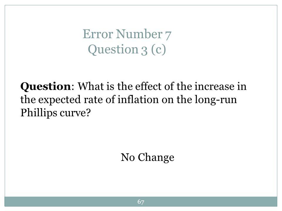 Error Number 7 Question 3 (c)