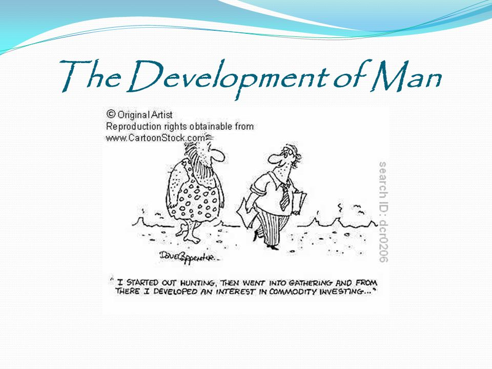The Development of Man