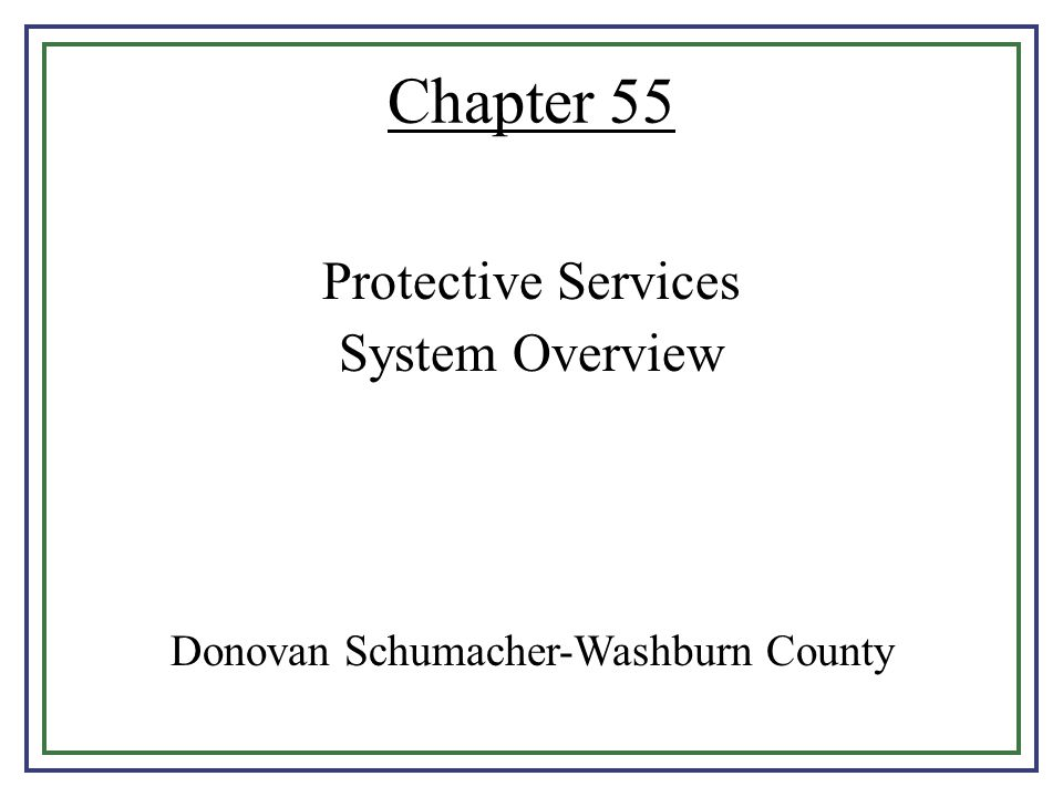 Donovan Schumacher-Washburn County