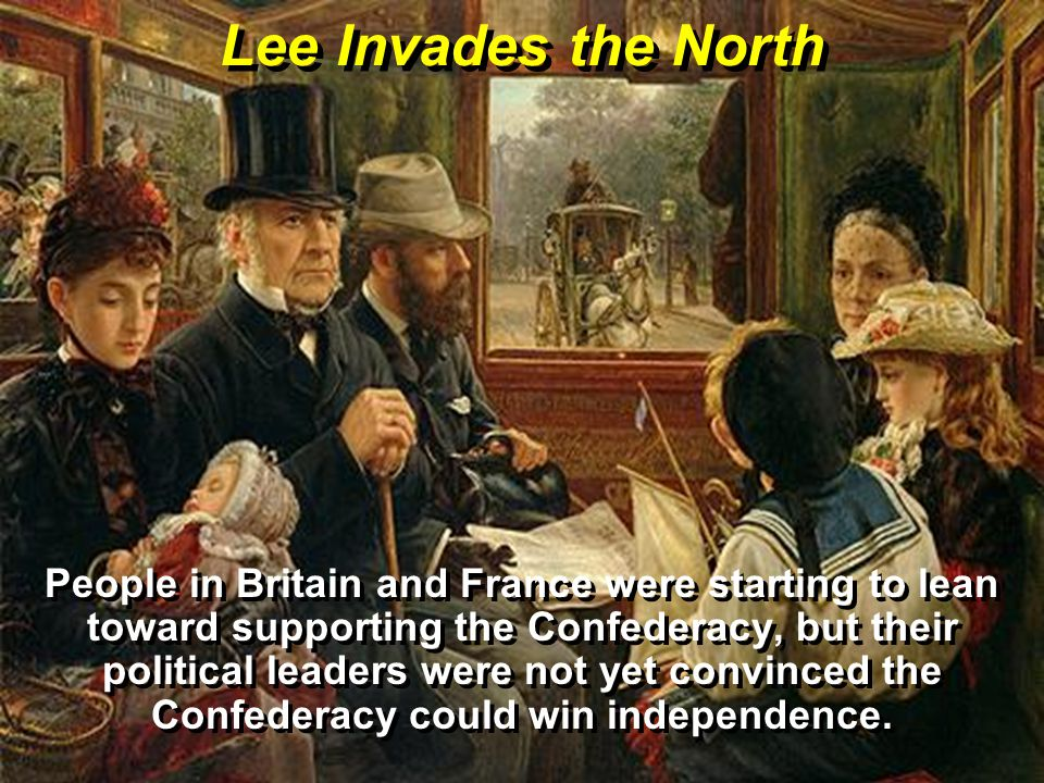 Lee Invades the North
