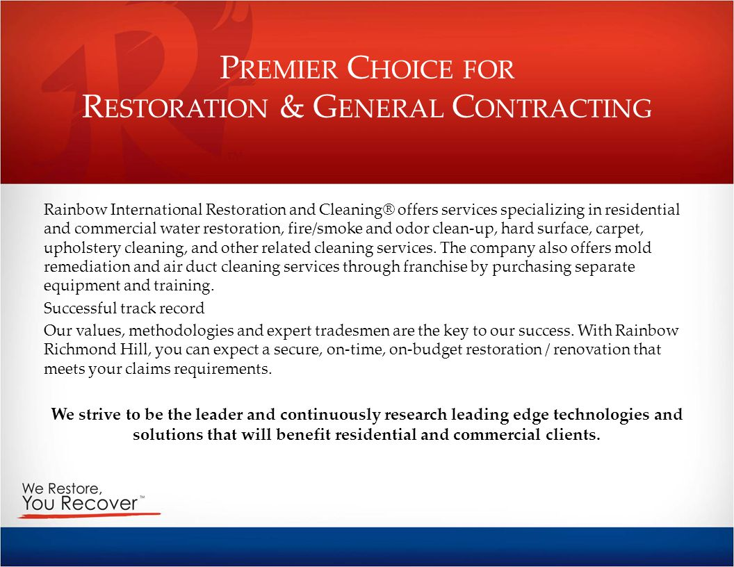 Premier Choice for Restoration & General Contracting
