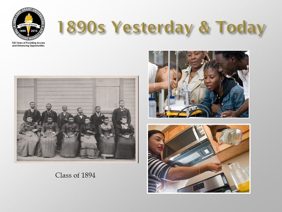 1890s Yesterday & Today Class of 1894