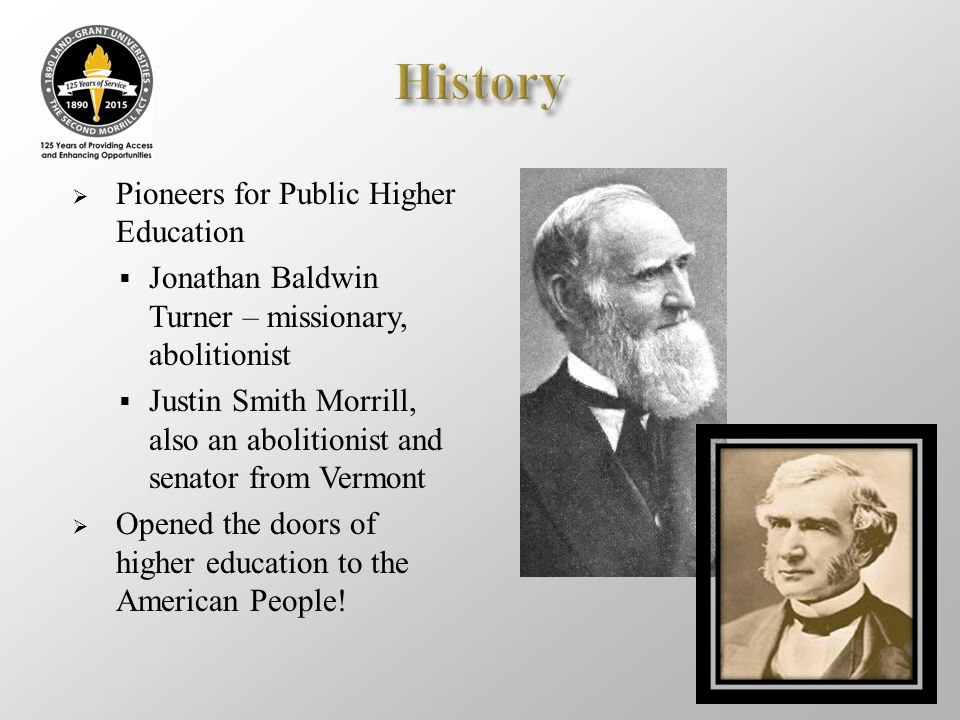 History Pioneers for Public Higher Education
