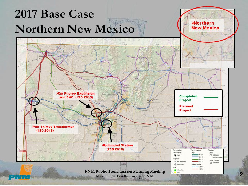 2017 Base Case Northern New Mexico