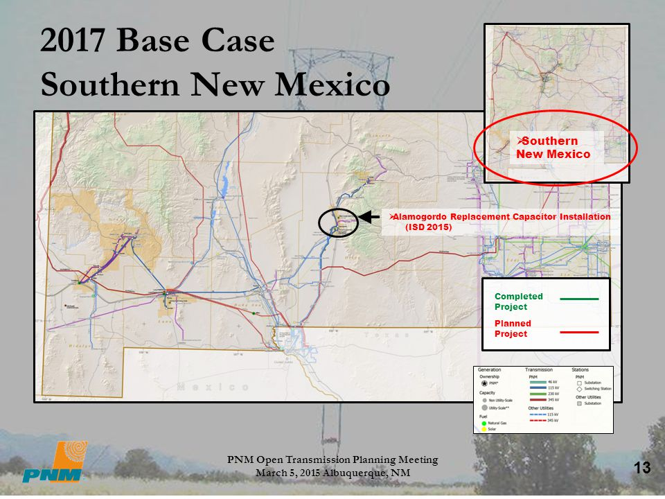 2017 Base Case Southern New Mexico