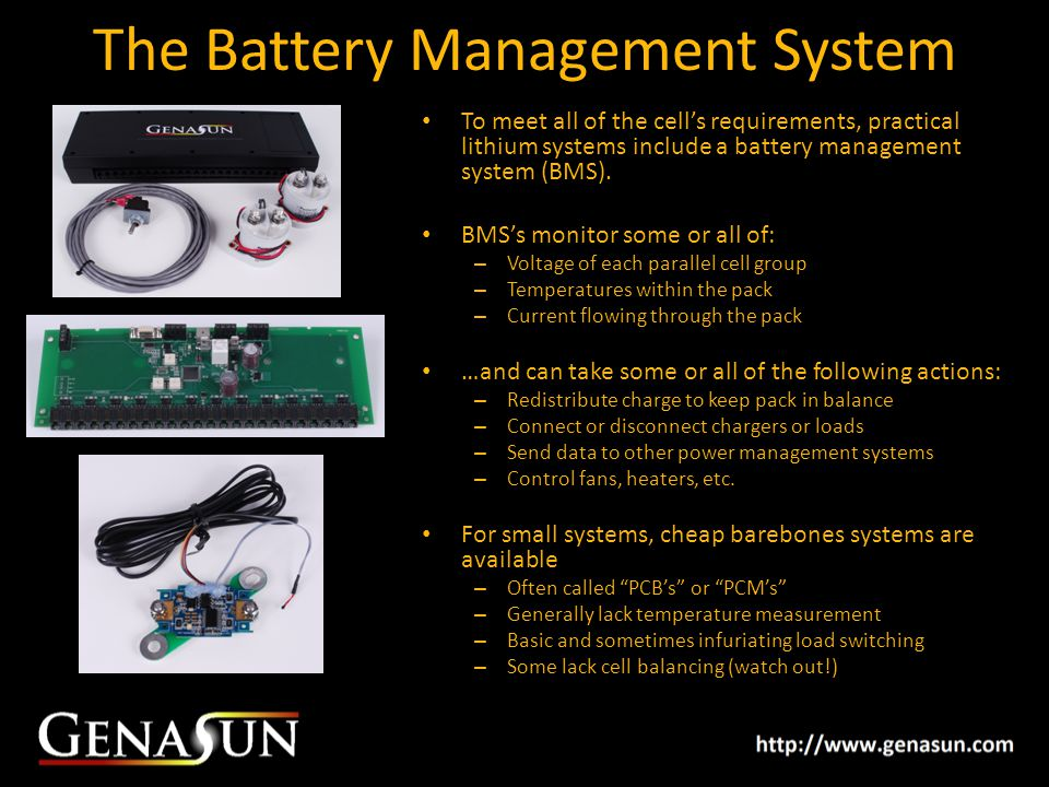 The Battery Management System