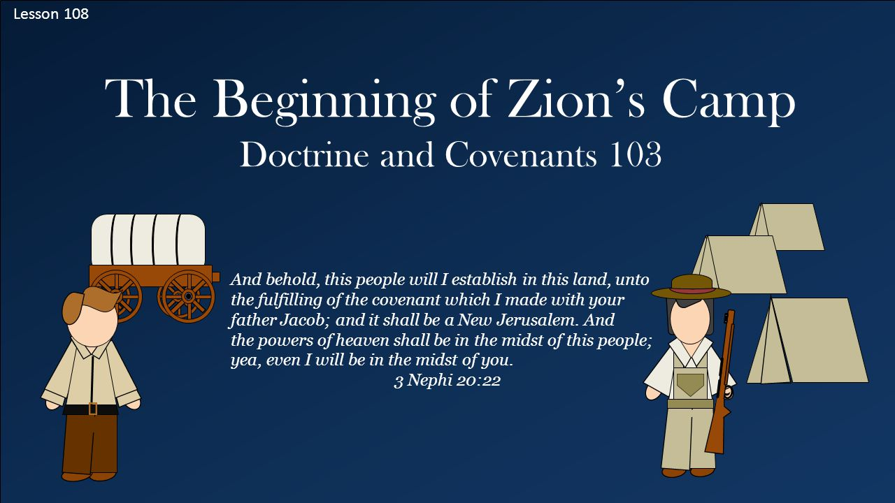 The Beginning of Zion's Camp