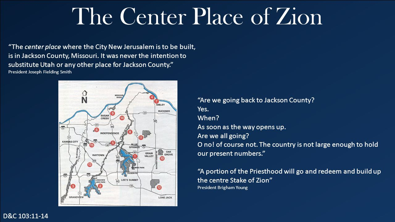 The Center Place of Zion