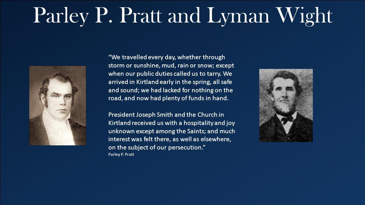Parley P. Pratt and Lyman Wight