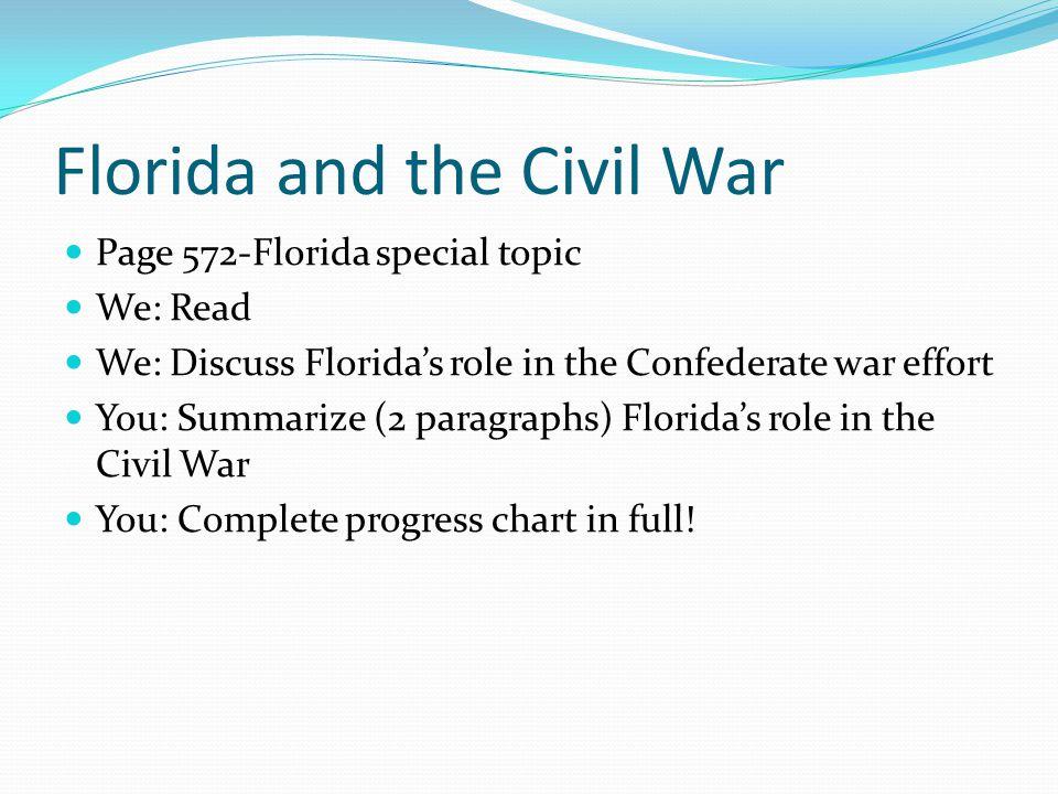 Florida and the Civil War