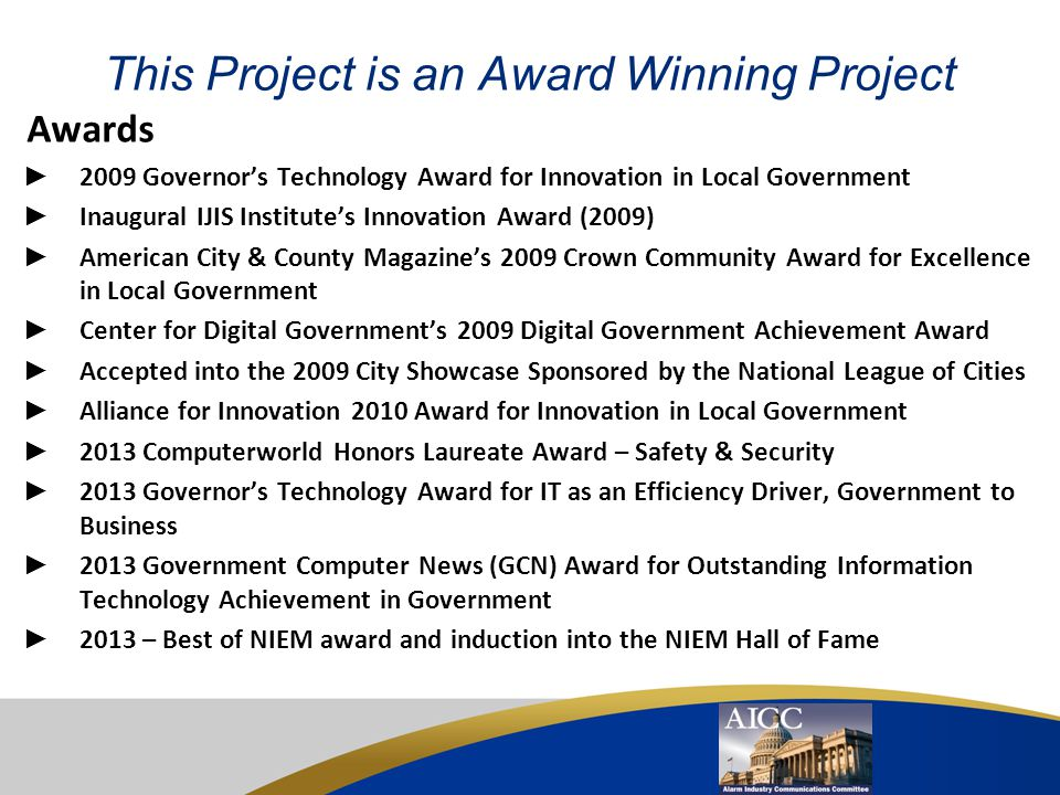 This Project is an Award Winning Project
