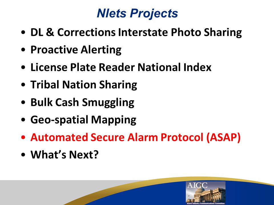 DL & Corrections Interstate Photo Sharing Proactive Alerting