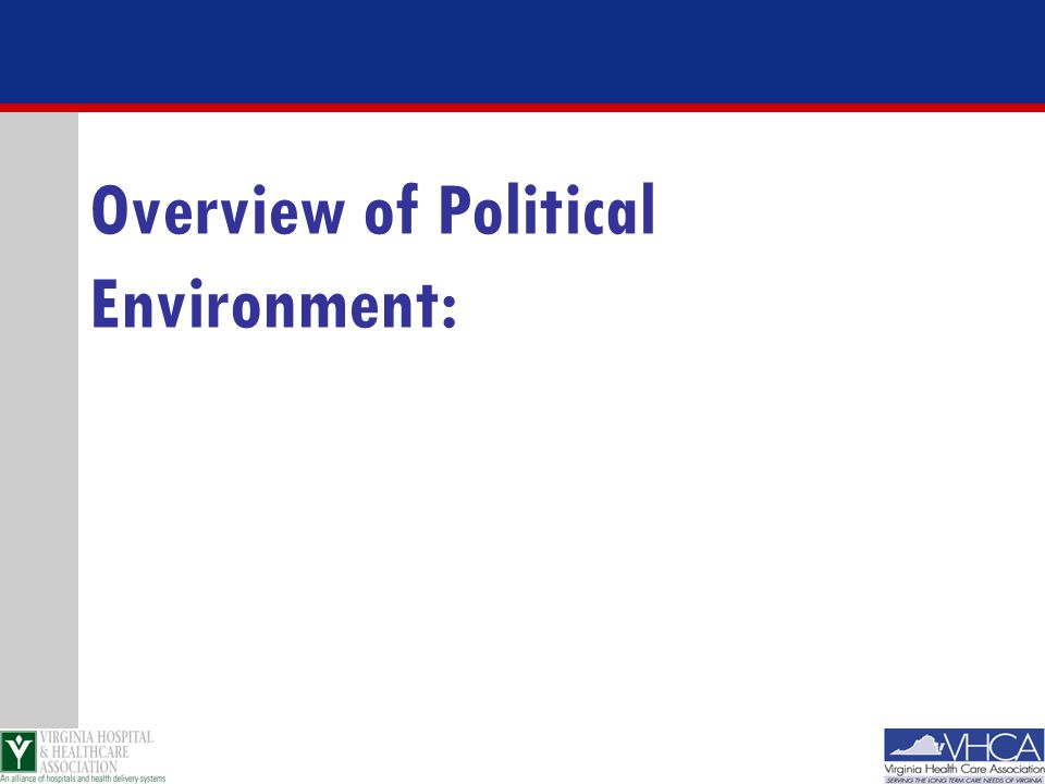 Overview of Political Environment: