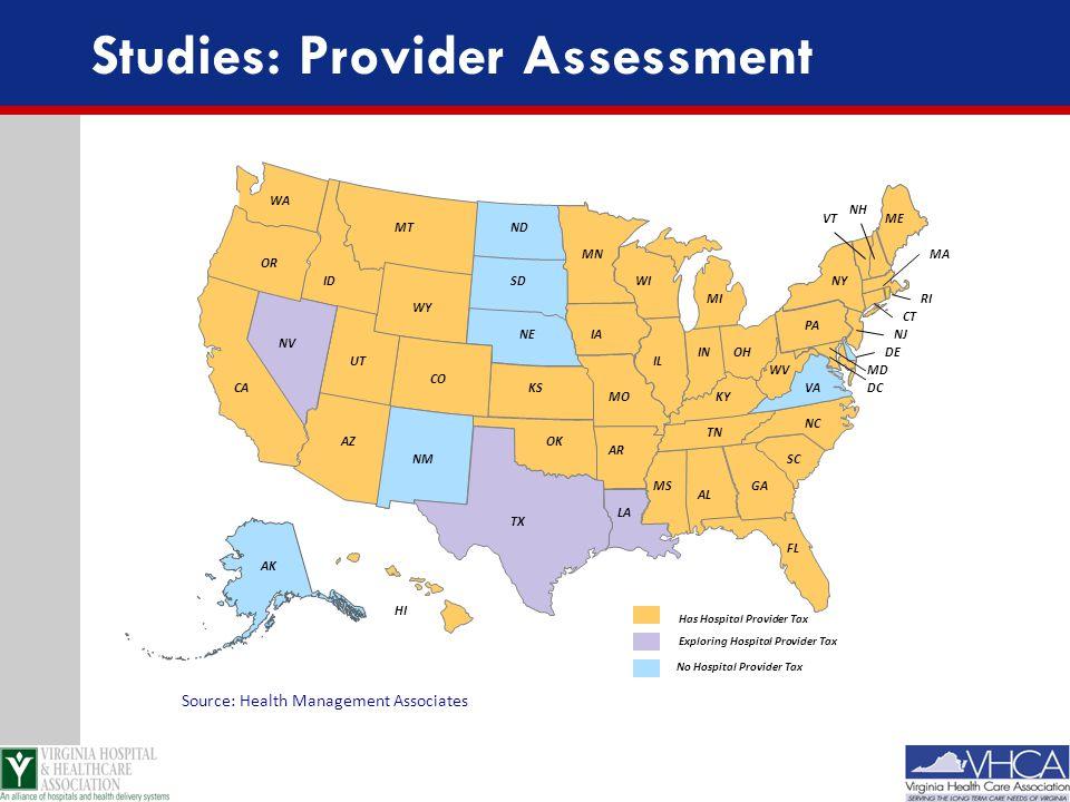 Studies: Provider Assessment