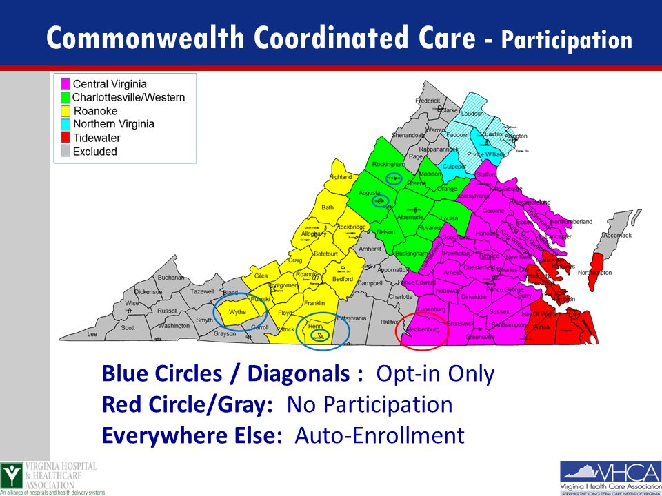 Commonwealth Coordinated Care - Participation
