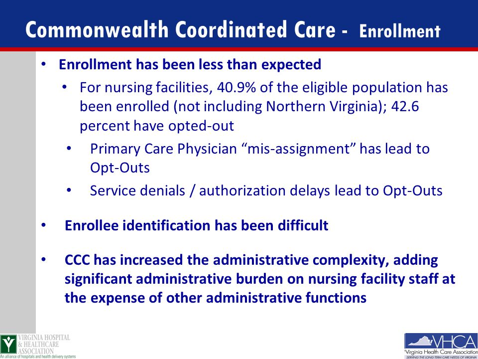 Commonwealth Coordinated Care - Enrollment