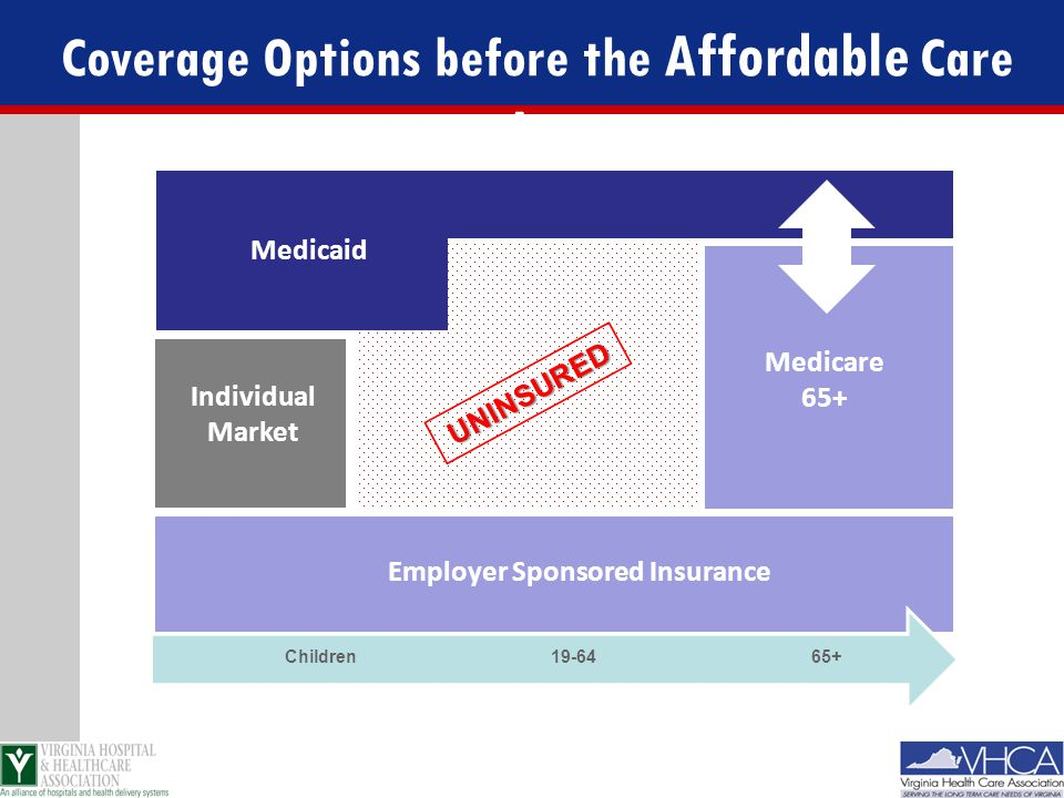 Coverage Options before the Affordable Care Act