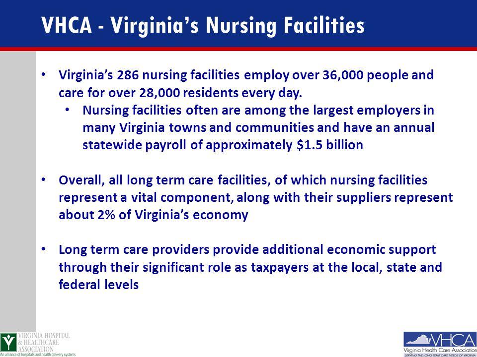 VHCA - Virginia's Nursing Facilities