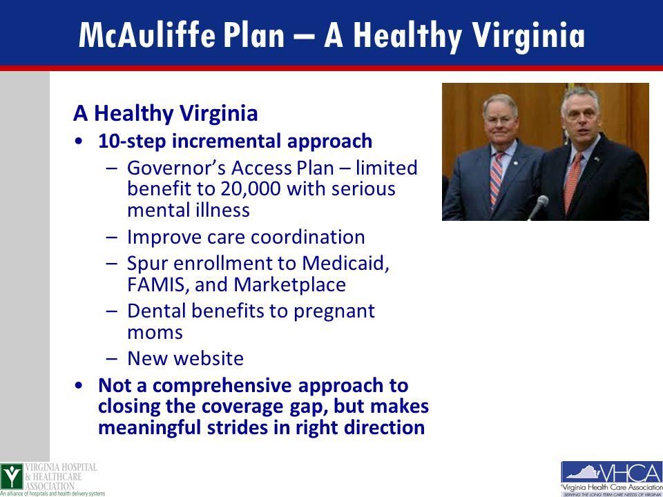 McAuliffe Plan – A Healthy Virginia