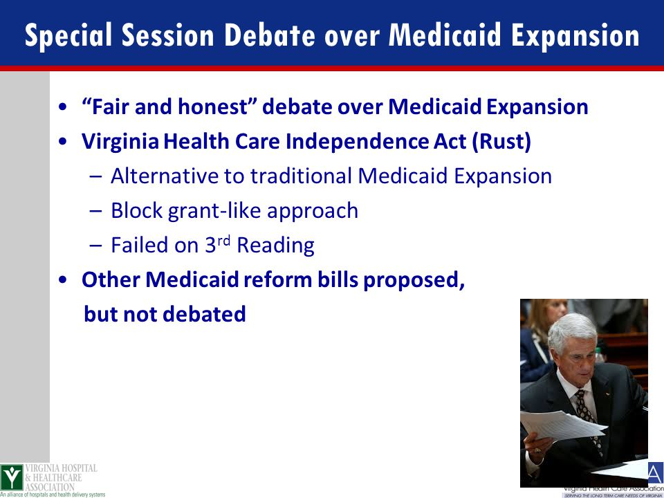 Special Session Debate over Medicaid Expansion