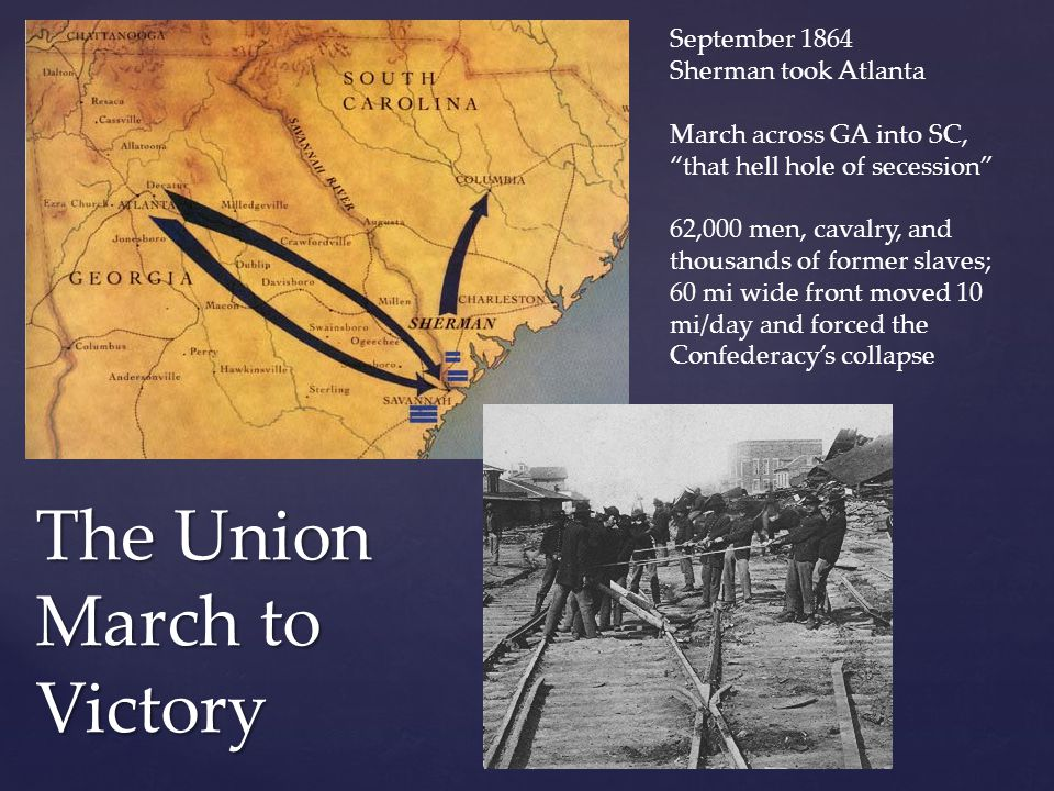 The Union March to Victory