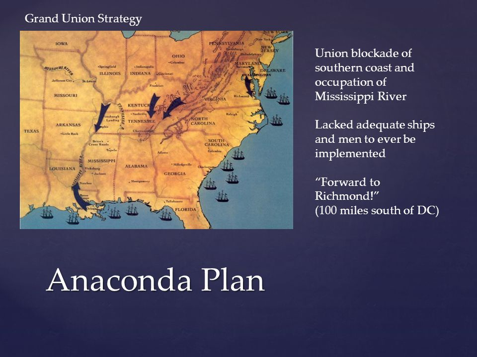 Anaconda Plan Grand Union Strategy