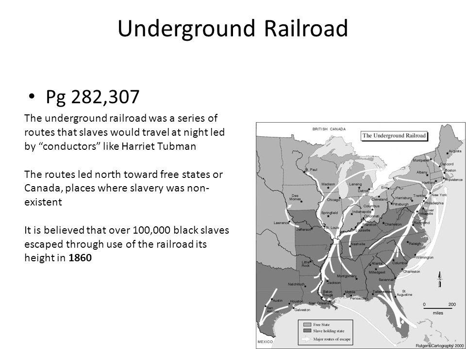 Underground Railroad Pg 282,307