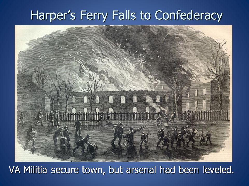 Harper's Ferry Falls to Confederacy