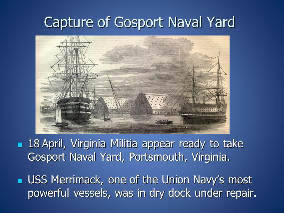 Capture of Gosport Naval Yard