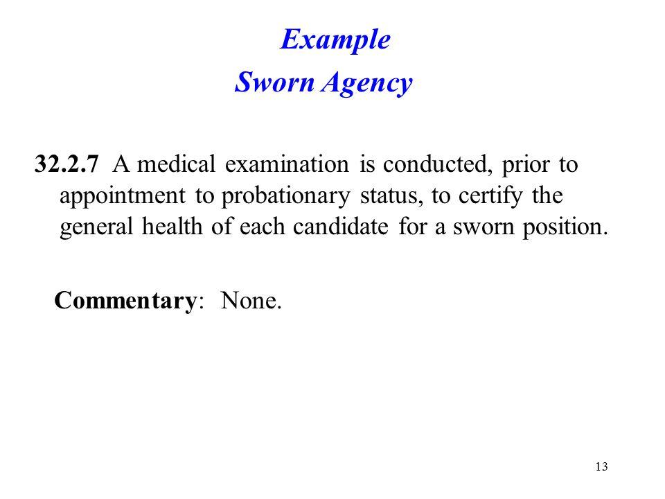 Example Sworn Agency.