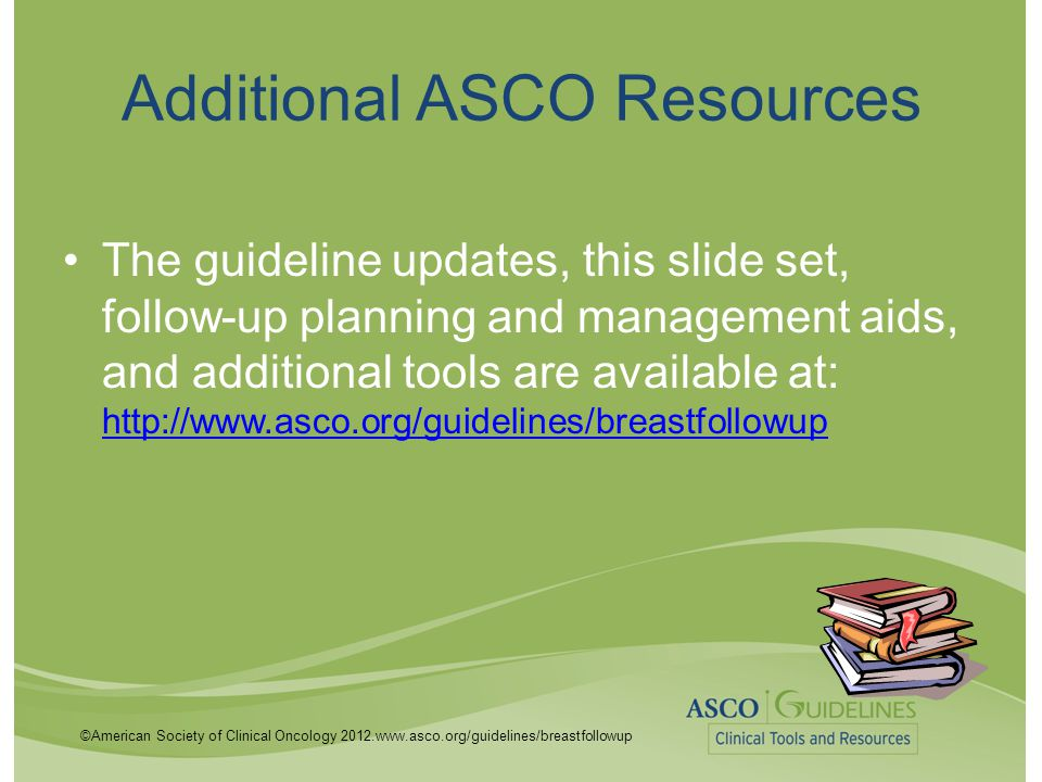 Additional ASCO Resources