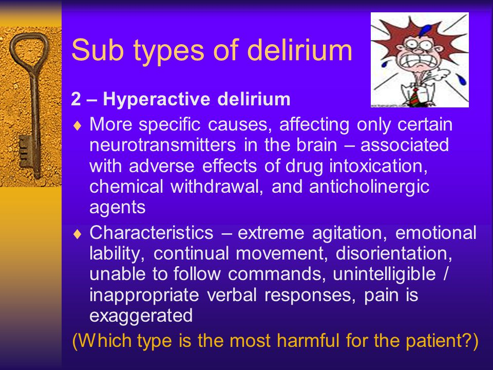 Delirium: Implications in the Care of Oncology Patients Essay