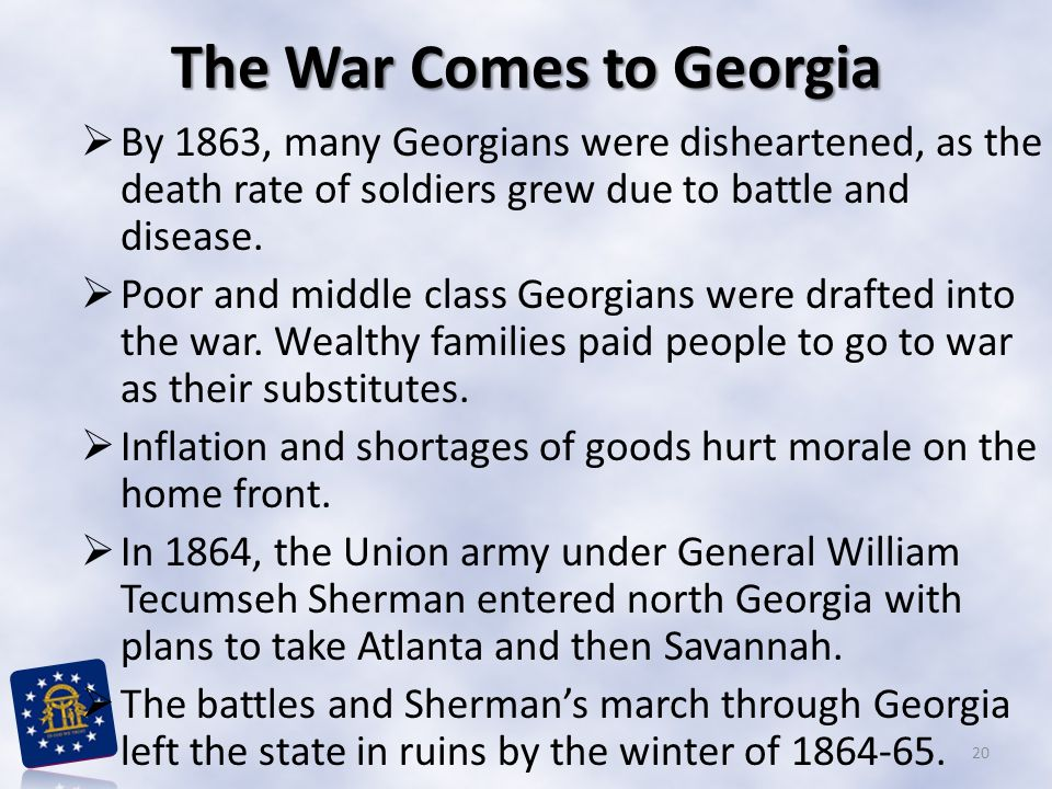 The War Comes to Georgia