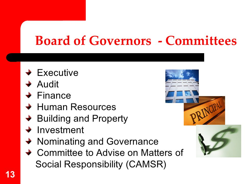 Board of Governors - Committees