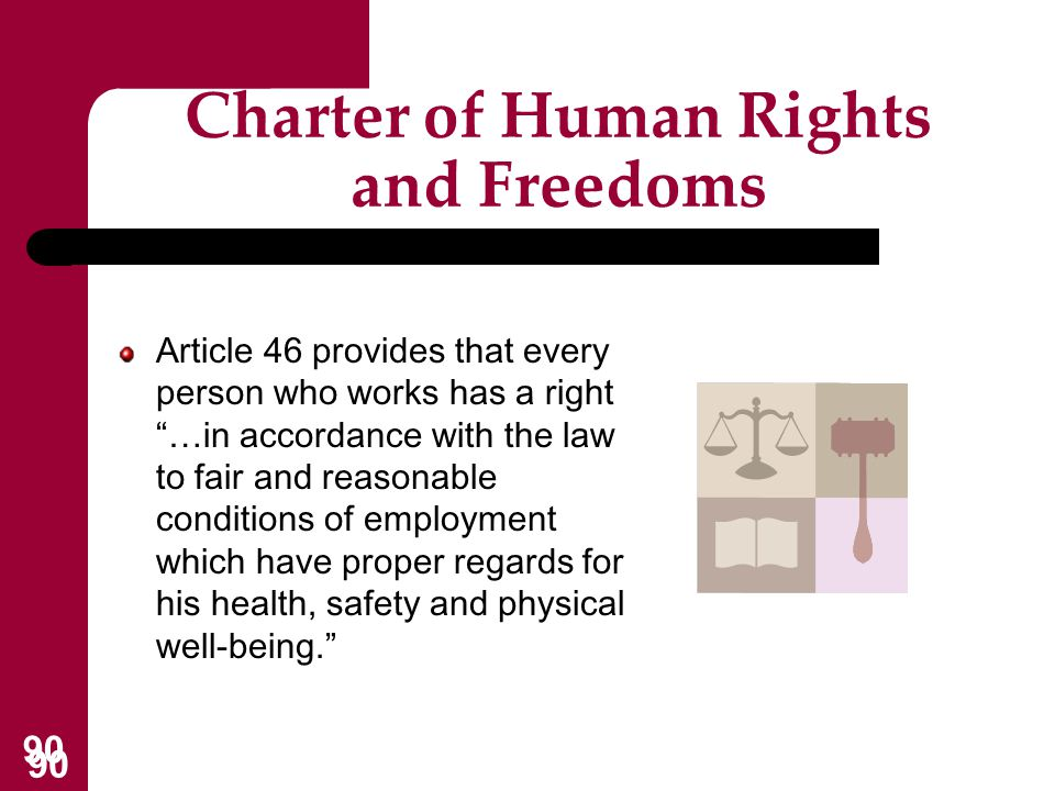 Charter of Human Rights and Freedoms