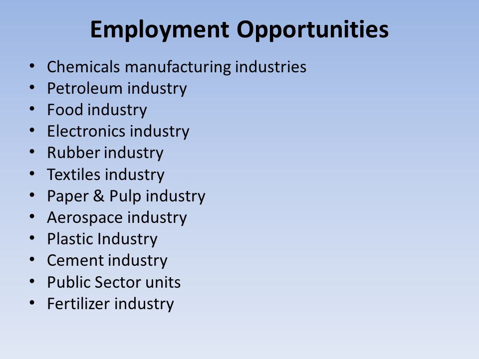 essay on modern industries and employment opportunities The german automotive industry with about 720,000 jobs is one of the biggest industry essays to looking at modern industries.
