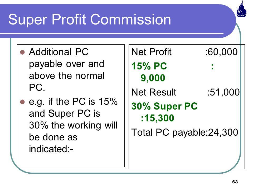Super Profit Commission
