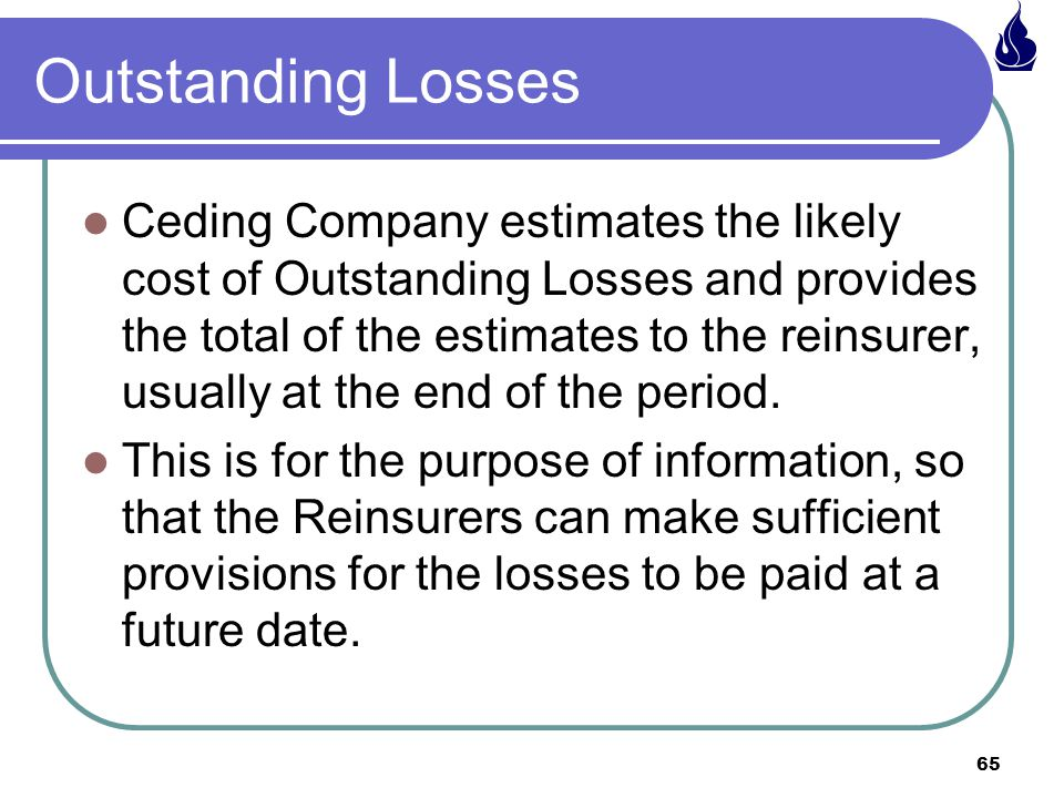 Outstanding Losses