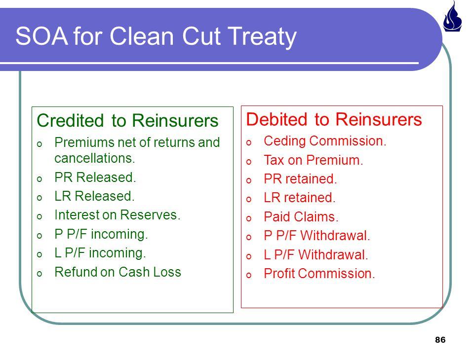 SOA for Clean Cut Treaty