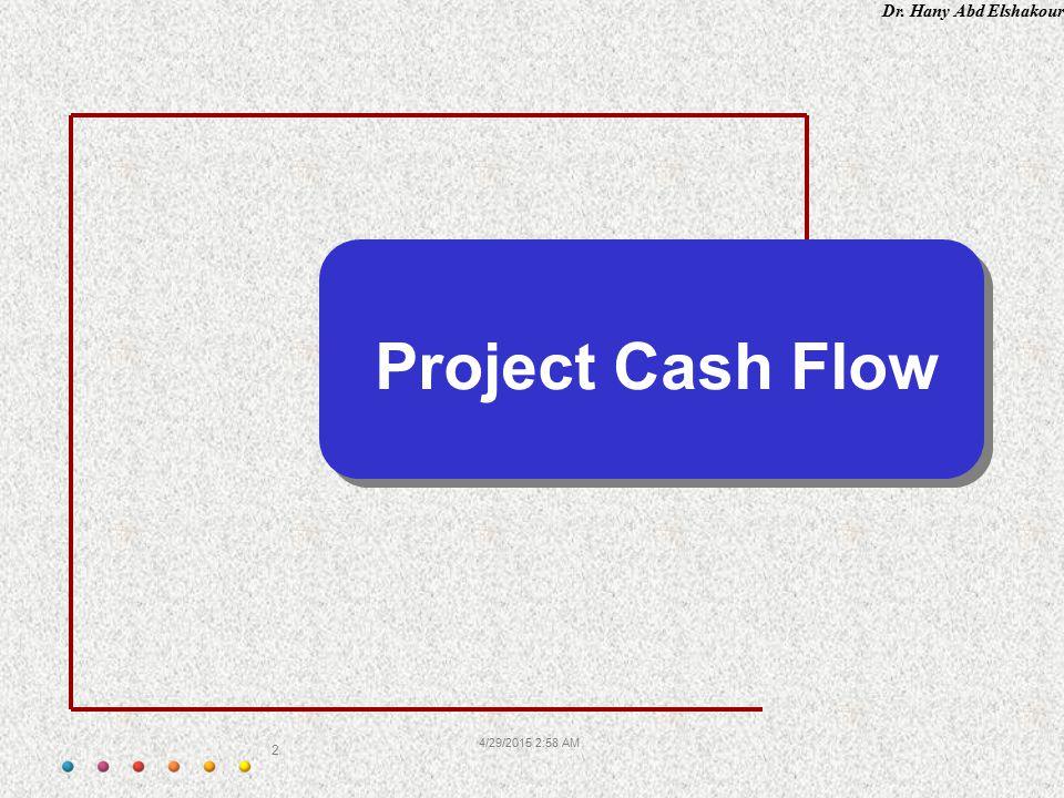 Project Cash Flow 4/13/2017 1:54 PM