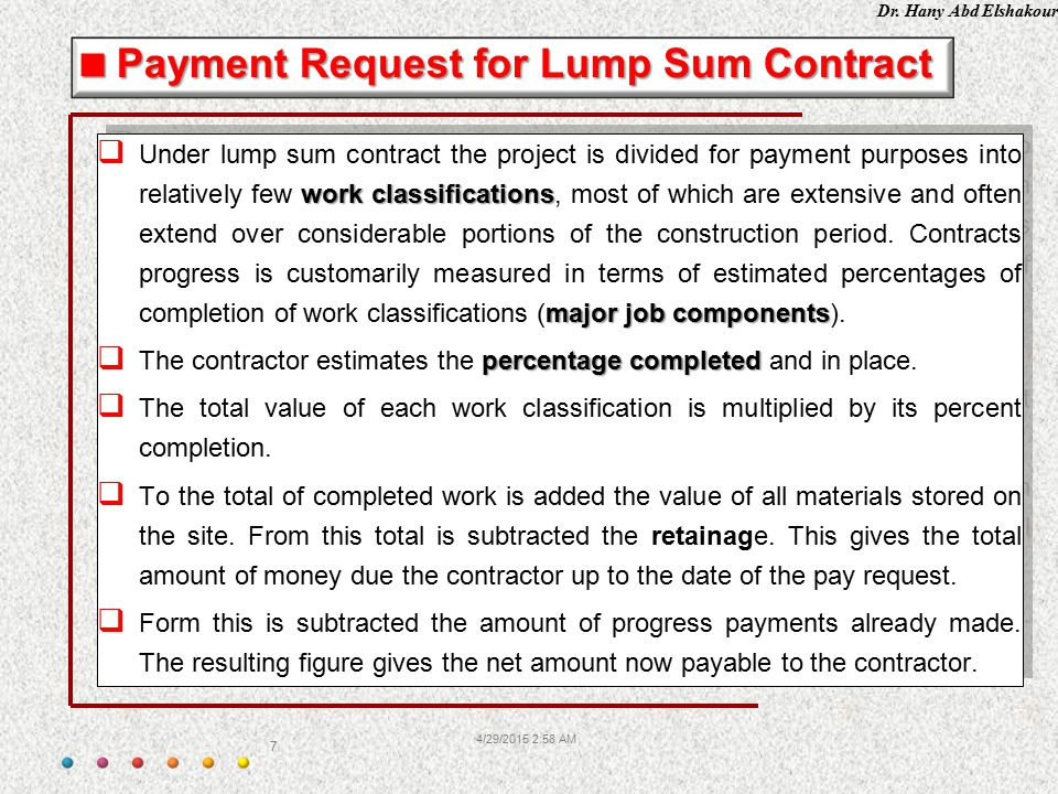 4132017 154 pm ppt video online download payment request for lump sum contract altavistaventures Image collections
