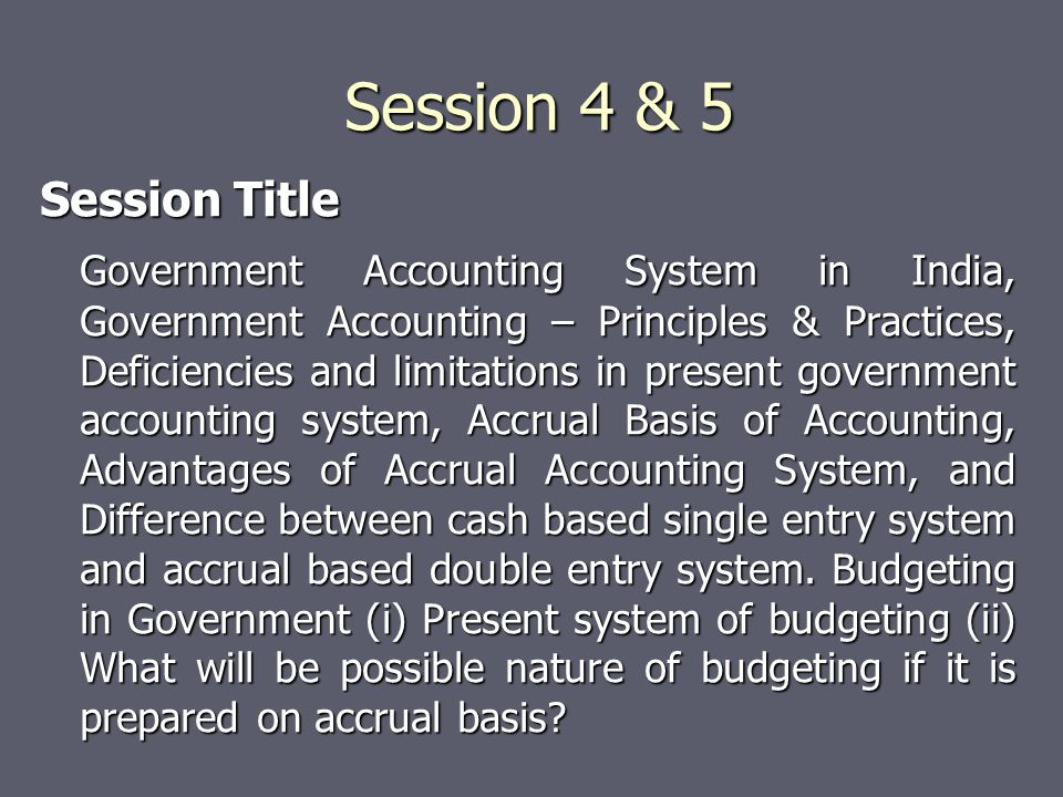 Session 4 & 5 Session Title