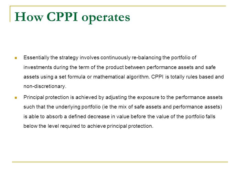How CPPI operates