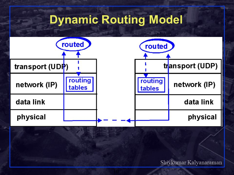 Dynamic Routing Model