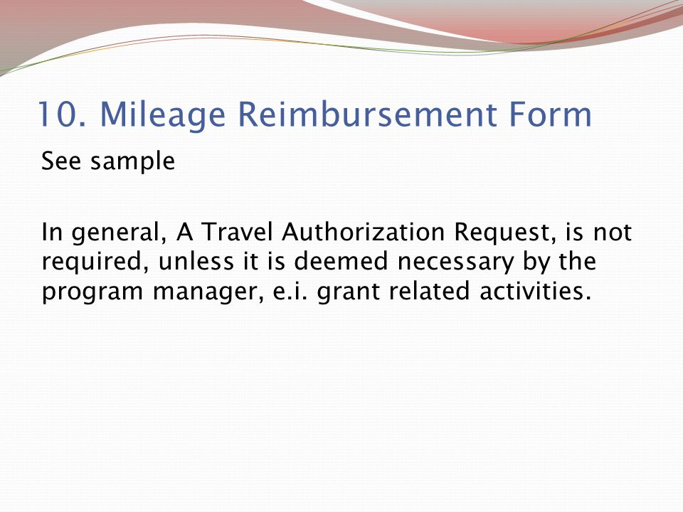 mileage reimbursement form 2018