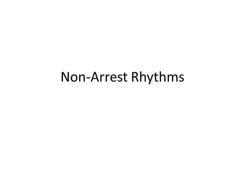 Non-Arrest Rhythms